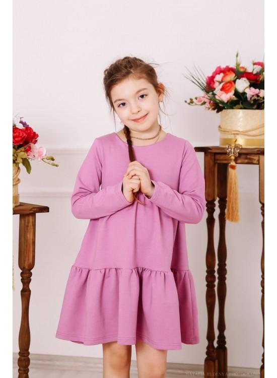 Детское платье Лилия с двумя воланами