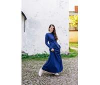 Платье Ирма макси с секретом для кормления