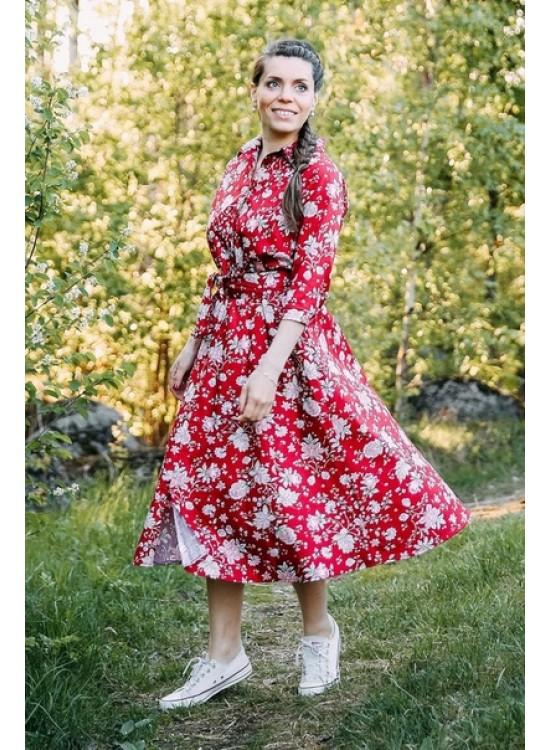 Платье Праздник миди