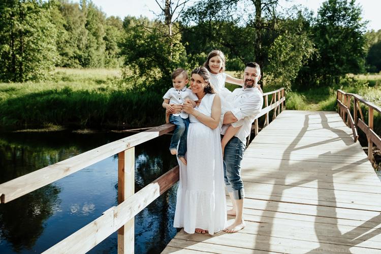 Катерина Пленкина и ее семья