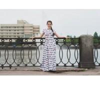 """Платье """"Дэви"""" из хлопкового трикотажа"""